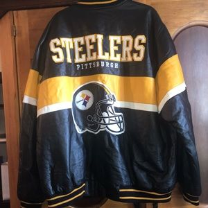 leatherman steelers jacket.